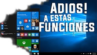 Eliminan Funciones de Windows 10 / Windows Fall Creators Update