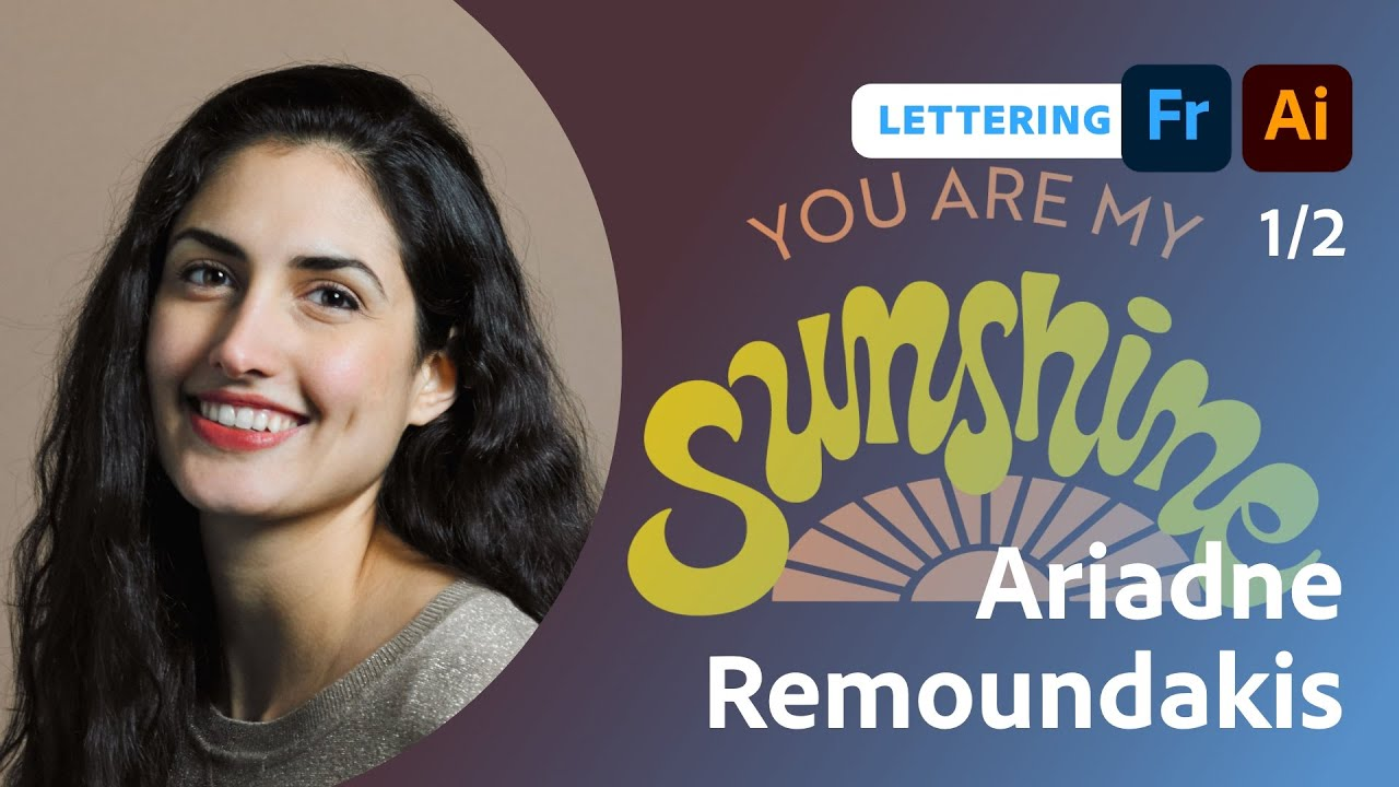 Combining Fonts and Lettering with Ariadne Remoundakis - 1 of 2