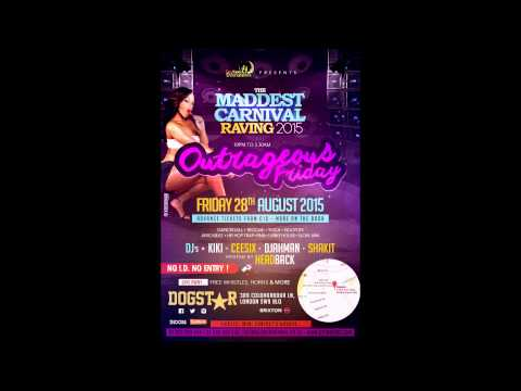 Silverstar Sound Dancehall 2015 Mix for the Maddest Carnival Raving - Careless Sunday