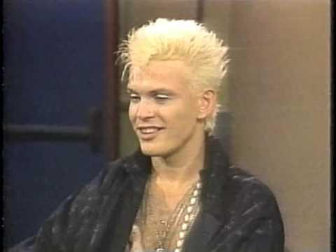 Billy Idol on Late Night, July 24, 1984
