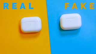 How To Spot Fake Airpods Pro in FOUR Ways!