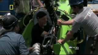 James Cameron Dives to Deepest Part of the Ocean Inside the Mariana Trench