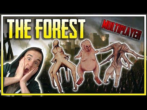 OBLĘŻENIE NASZEJ BAZY!    THE FOREST MULTIPLAYER    (z: Bladii)