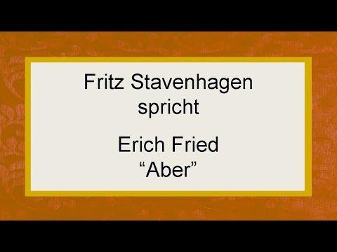 """Erich Fried """"Aber"""""""
