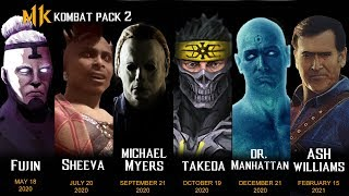 OFFICIAL MORTAL KOMBAT 11 KOMBAT PACK 2 PREDICTION by SMG Princess