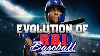 Graphical Evolution of R.B.I. Baseball (1986-2019)