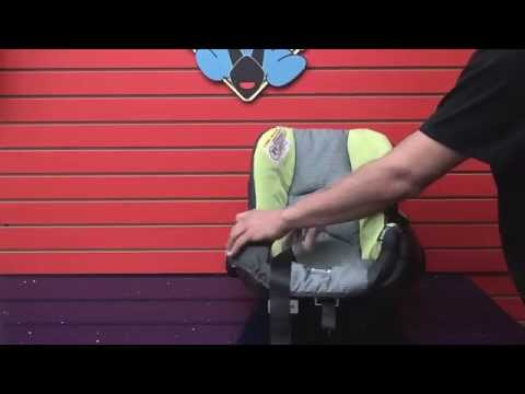 Evenflo Embrace - Car Seat Cleaning (Part 1: Take apart car seat to clean)