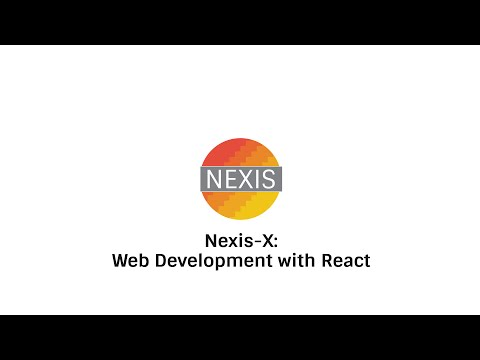 NEXIS-X Web Dev. with React