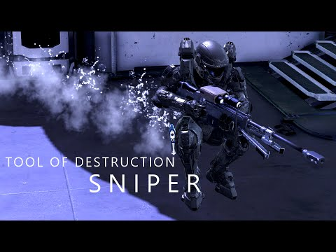 Halo 5 - Tool of Destruction... SNIPER // Champion Level FFA
