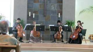 Art of Chamber ~ Cello Quartet ~ performed by Esther Back , Yasuk...