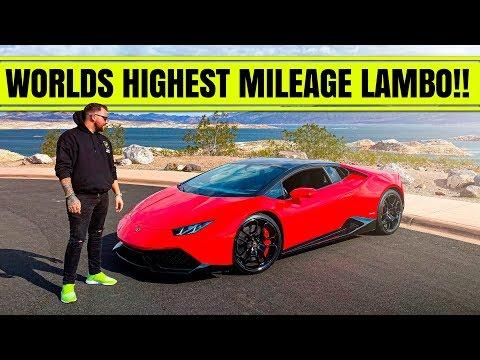 THE WORLDS HIGHEST MILEAGE LAMBORGHINI HURACAN!!