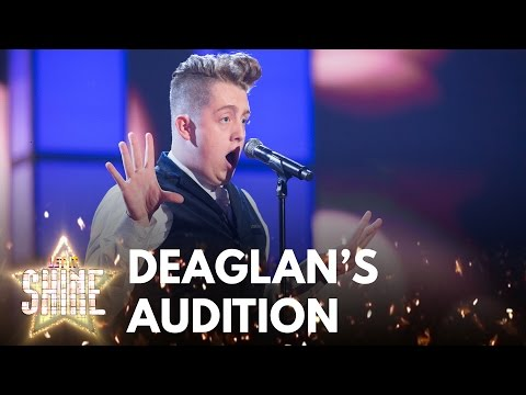 Deaglan Arthurs performs 'New York, New York'  Frank Sinatra  Let It Shine  BBC One