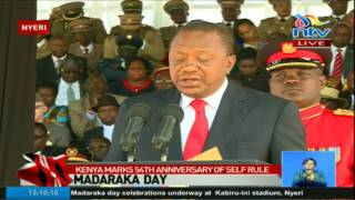 54th MADARAKA DAY:President Uhuru Kenyatta full speech