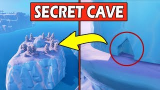 *NEW* SECRET MAP CHANGES! SECRET CAVE & ICE MELTING! FORTNITE