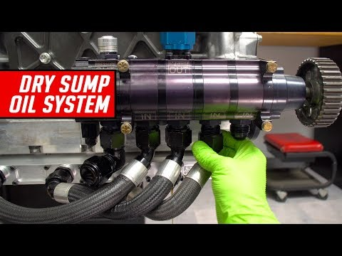 Dry Sump Oil System Teardown and Description