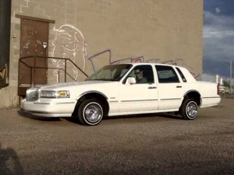 97 Lincoln Lowrider Youtube