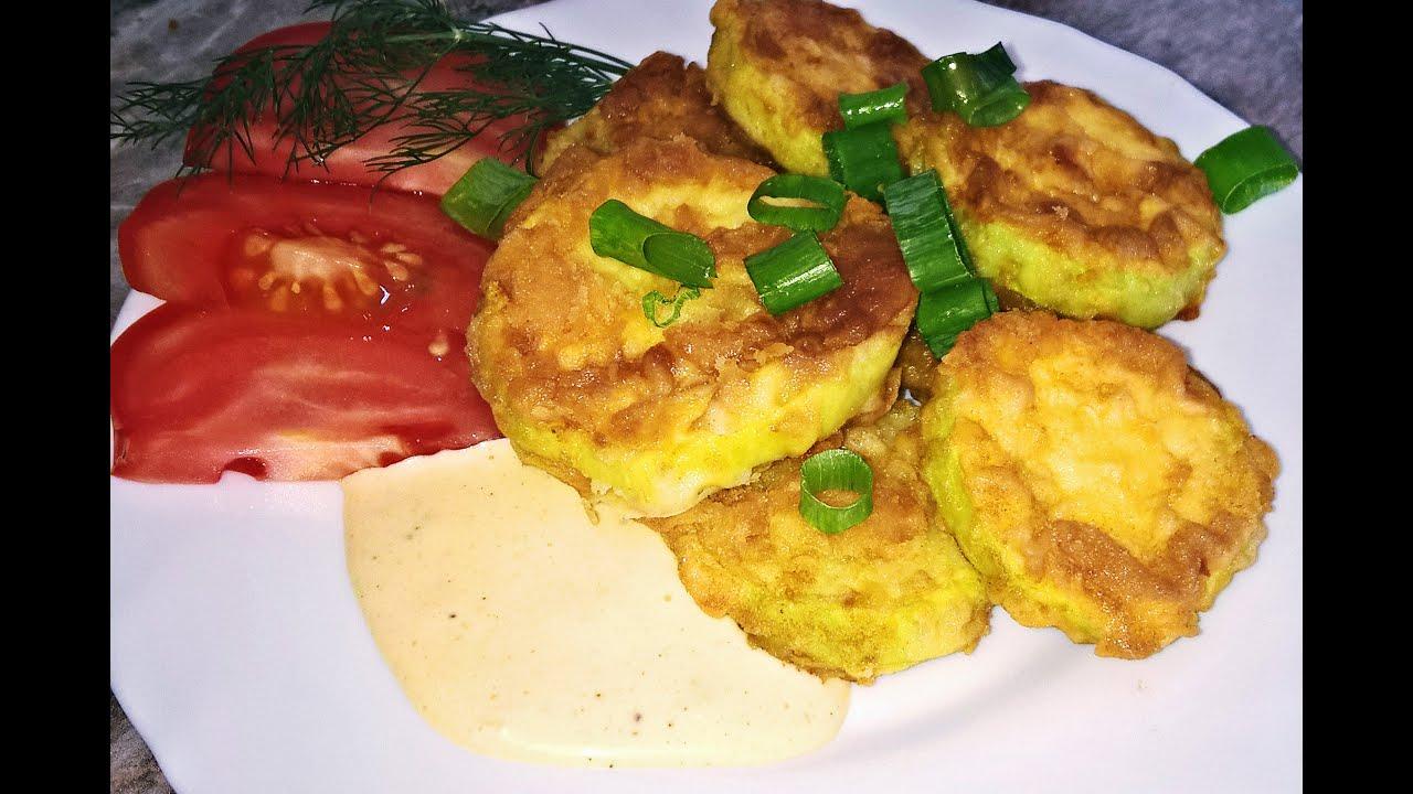 жареные кабачки в кляре рецепт с фото с чесноком