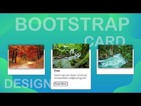 Bootstrap Card Design | Bootstrap 4 Card Design | Coding League