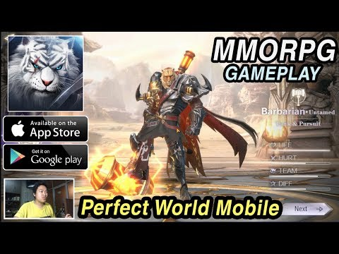Perfect World Mobile Gameplay (Android/IOS MMORPG)