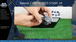 Batería Cynetic CPZS 575AH 24