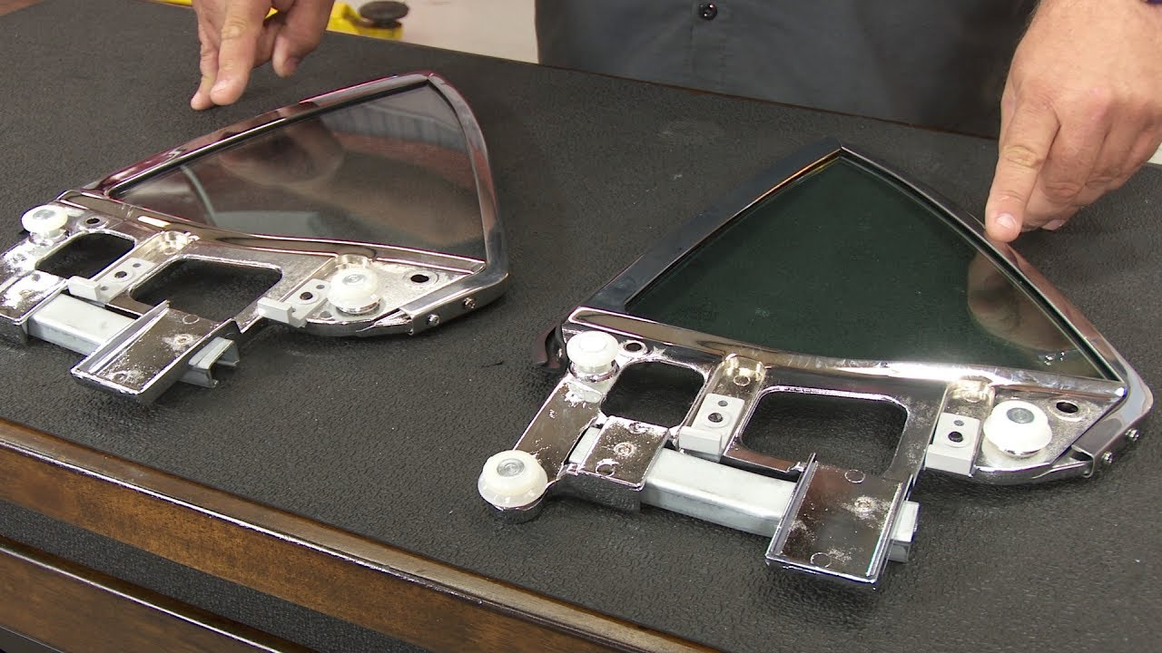 Mustang convertible quarter window assembly driver side for 1966 mustang quarter window installation