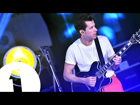 Live Lounge Uncovered Preview - Mark Ronson Rehearsals