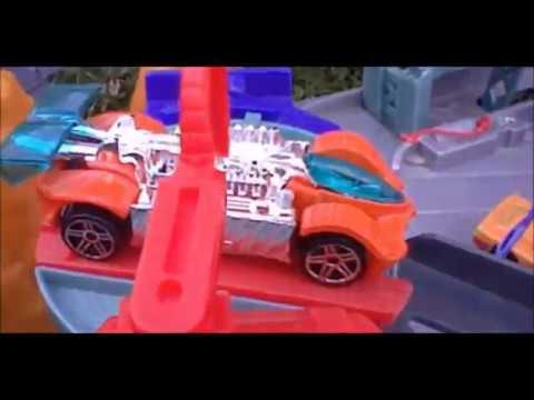 circuit hot wheels t rex de mattel voiture rapide youtube