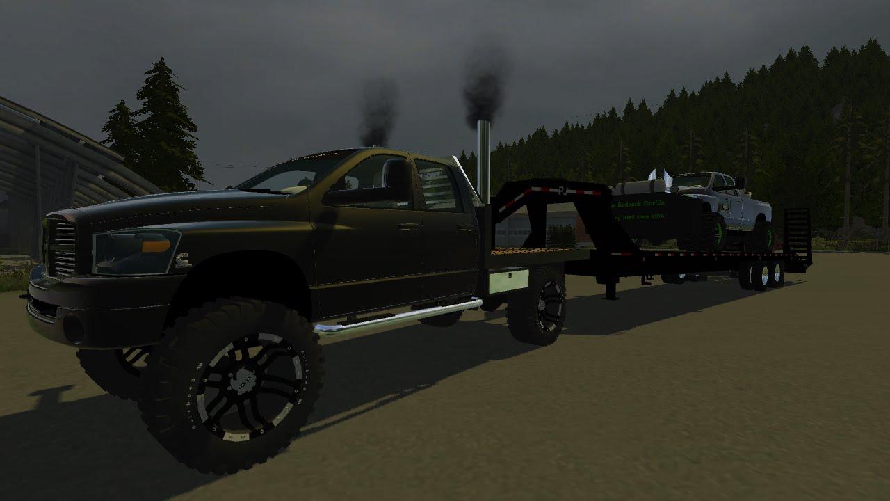 Maxresdefault on Dodge Ram Truck Pulling A Trailer