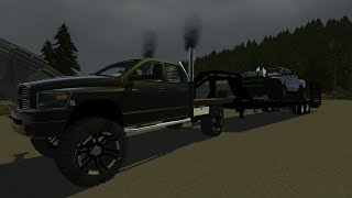 Farming Simulator 2013 Mods | 2008 Dodge Ram 2500 & Pulling Truck