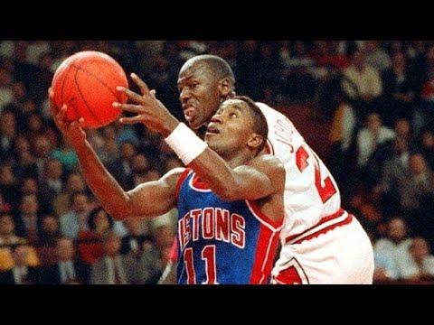 "The Saga of The Bulls Vs. ""BAD BOY"" Pistons Rivalry! part 1"