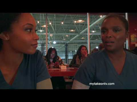 One Chicago Day 2016: Yaya DaCosta and Marlyne Barrett p CHICAGO MED