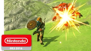 Download The Legend of Zelda: Breath of the Wild - Exploration Gameplay - Nintendo E3 2016 Mp3 and Videos