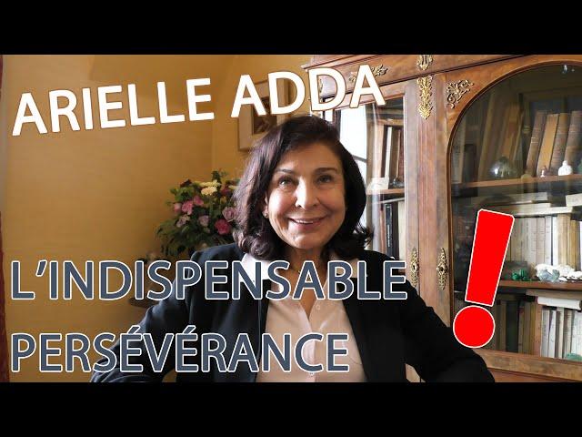 ARIELLE ADDA | SURDOUÉS : L'INDISPENSABLE APPRENTISSAGE DE LA PERSÉVÉRANCE