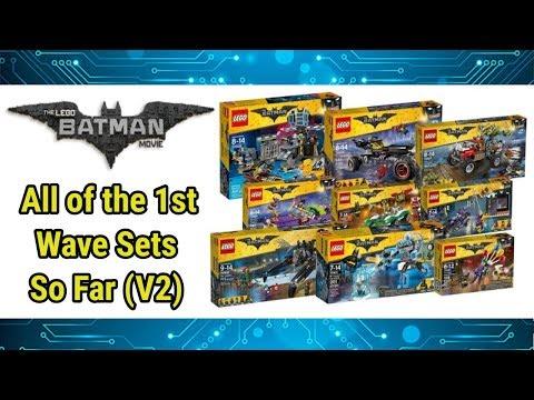 All of the Lego Batman Movie sets (so far) - YouTube