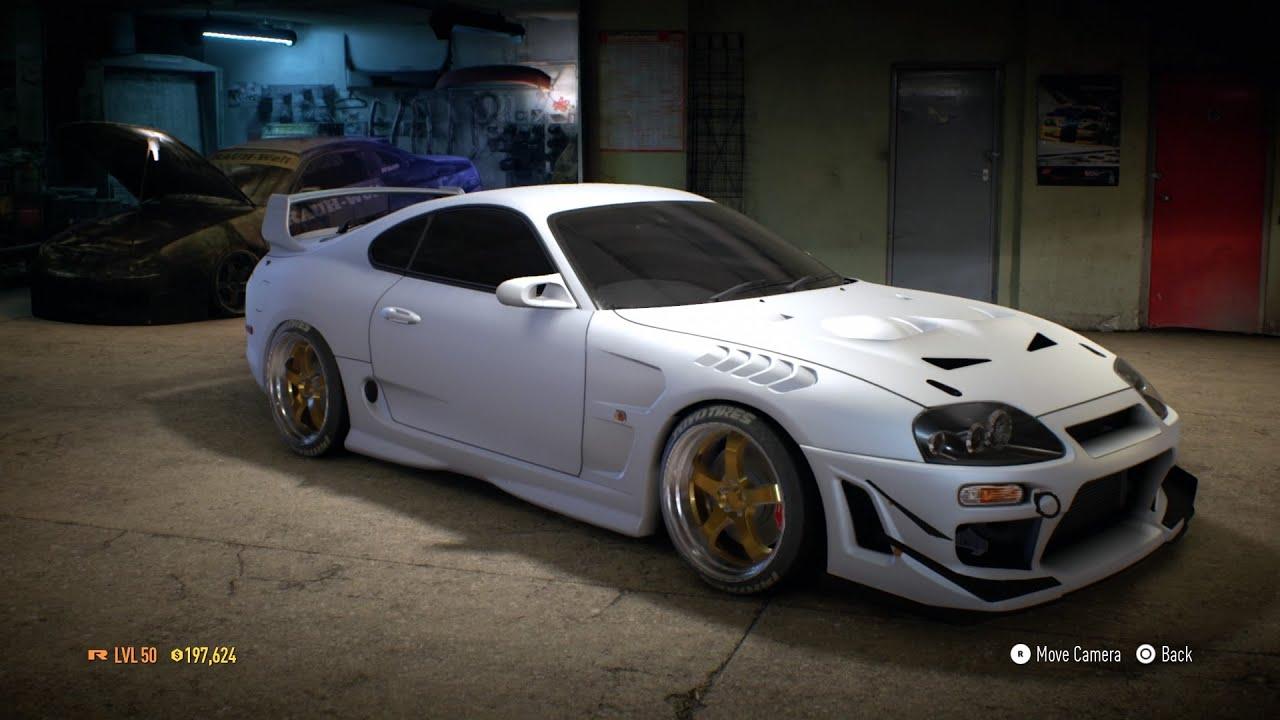 Need For Speed 2015 Toyota Supra Customization 1100 HP