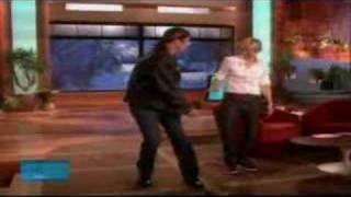 Ellen & John Travolta dance