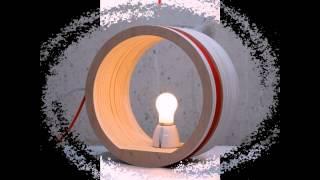 Креативные светильники из дерева