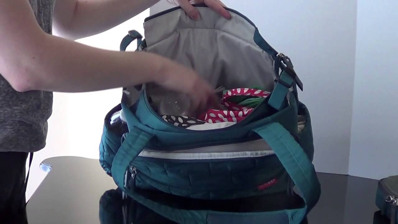 17dfec32afe7 Pack It: Skip Hop Forma Diaper Bag Packing Video and Review