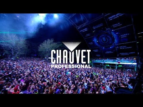 Steve Lieberman - Production Designer Live @ Ultra Music Festival 2016 with CHAUVET Professional