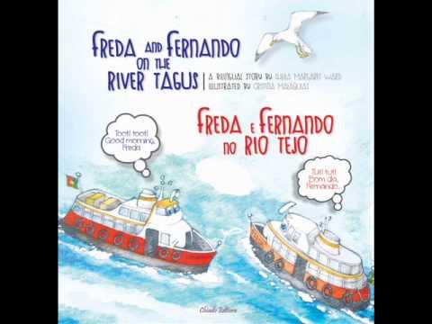 Freda and Fernando on the River Tagus trailer em português