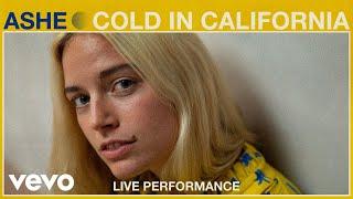 Смотреть клип Ashe Ft. Gavin Haley - Cold In California