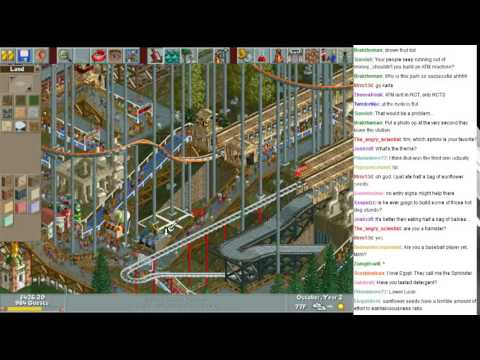 MonotoneTim Roller Coaster Tycoon!