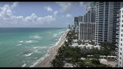 For sale 2 bdr condo apartment with direct Ocean view in Hollywood, Miami, Florida