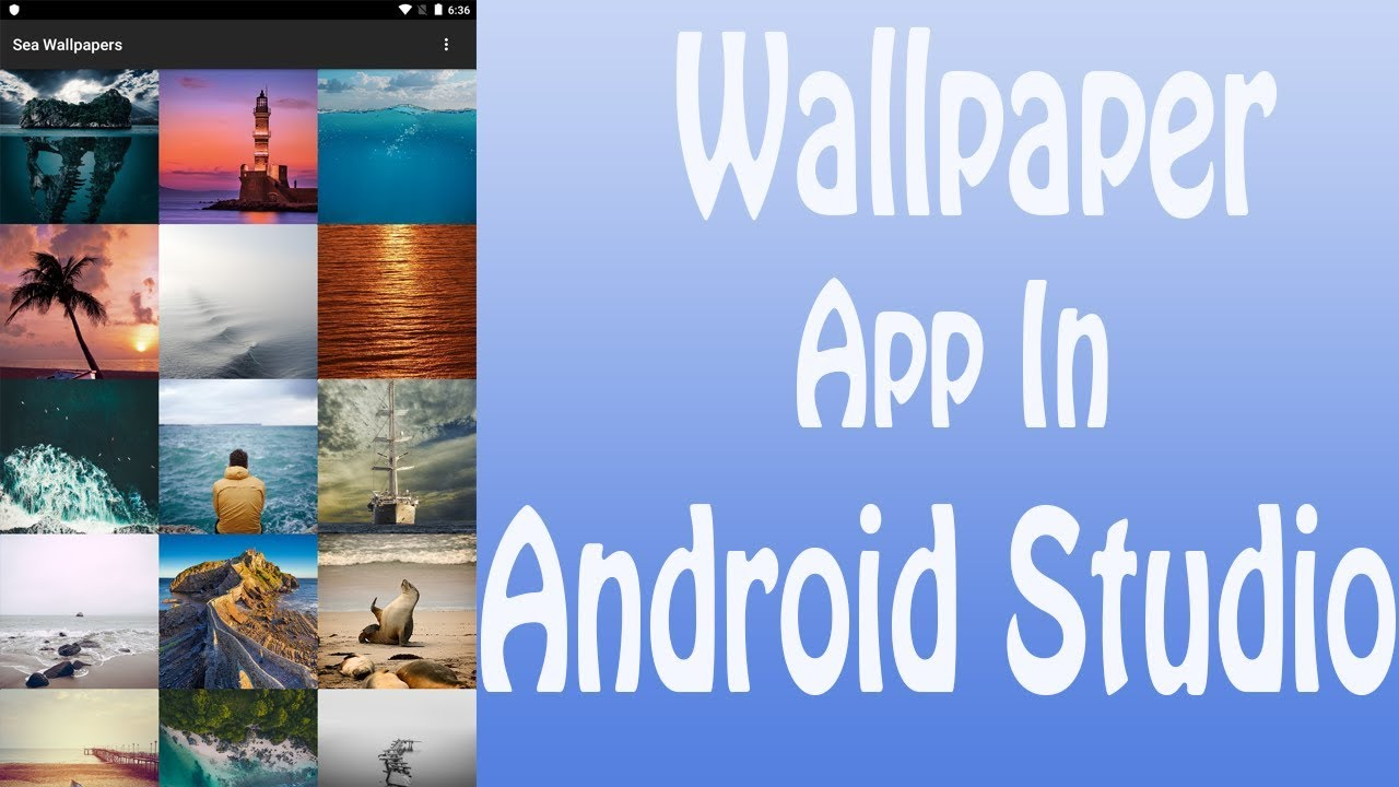 How To Make Wallpaper App For Android In Hindiurdu