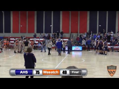 Boys USSA Basketball Final: American Heritage Academy vs. Wasatch Academy