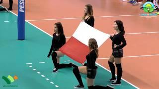 Mecz siatkówki Polska - Brazylia