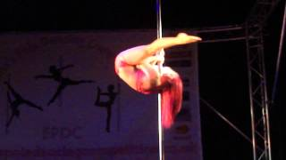 Jess Leanne Norris - Guest Performance - Emma's Pole Dancing Competition 2013