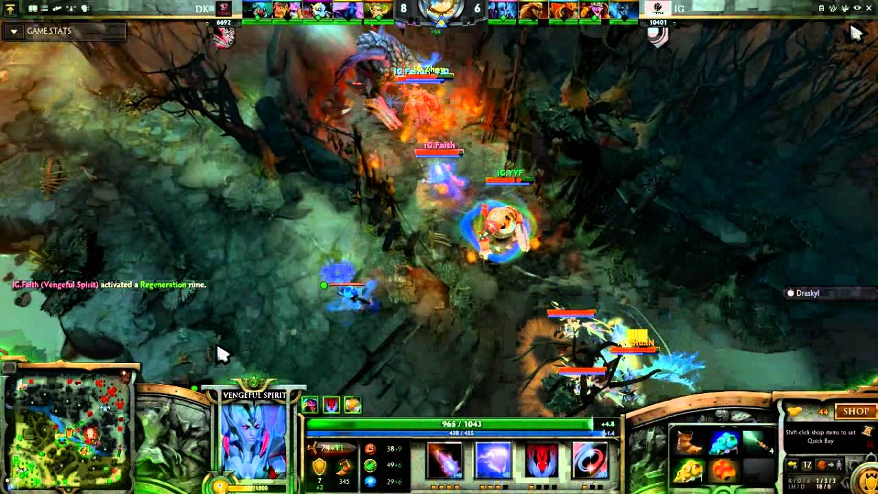 Ig vs navi game 1 highlights