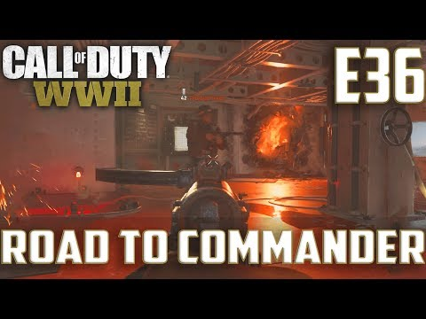Call Of Duty World War 2(RTC)PS4 Ep.36-S&D On Flak Tower,USS Texas(Type 100)