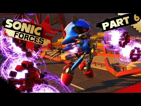 Sonic Forces - Part 6 - DEADLY WATER, METAL SONIC & GIANT ROBOT CRAB!!!